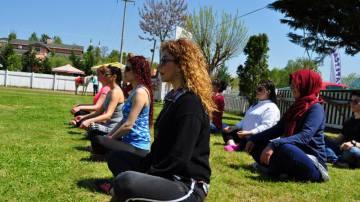 doğa da yoga